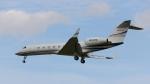raichanさんが、成田国際空港で撮影したBANK of UTAH TRUSTEE G-V-SP Gulfstream G550の航空フォト(写真)