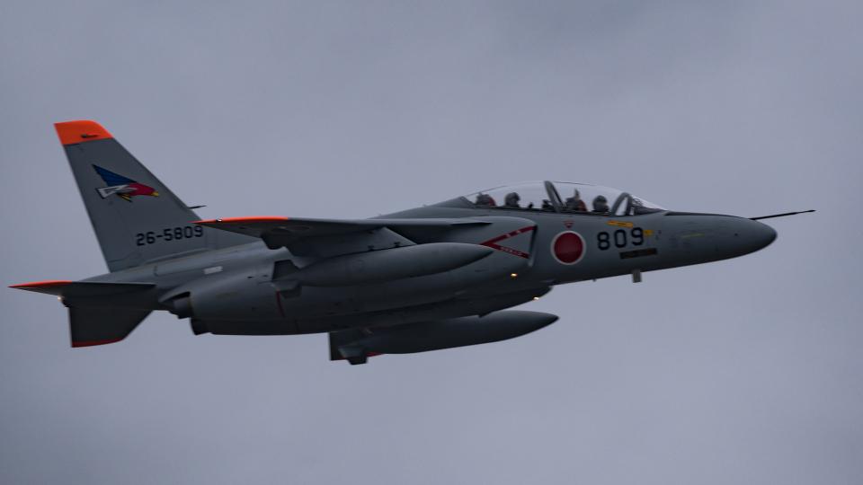 Ryusei10Rさんの航空自衛隊 Kawasaki T-4 (26-5809) 航空フォト