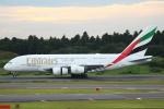 セブンさんが、成田国際空港で撮影したエミレーツ航空 A380-861の航空フォト(写真)