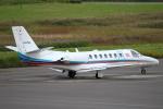 セブンさんが、札幌飛行場で撮影した朝日新聞社 560 Citation Encoreの航空フォト(飛行機 写真・画像)