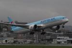 幹ポタさんが、福岡空港で撮影した大韓航空 787-9の航空フォト(写真)