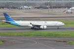yuu-kiさんが、羽田空港で撮影したガルーダ・インドネシア航空 A330-343Xの航空フォト(写真)