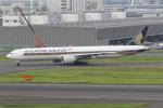 yuu-kiさんが、羽田空港で撮影したシンガポール航空 777-312/ERの航空フォト(写真)