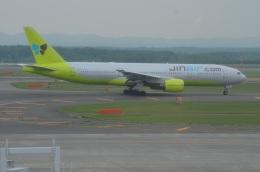 amagoさんが、新千歳空港で撮影したジンエアー 777-2B5/ERの航空フォト(写真)