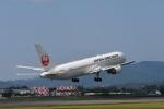 masatakaさんが、鹿児島空港で撮影した日本航空 767-346/ERの航空フォト(写真)