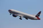 MA~RUさんが、羽田空港で撮影したブリティッシュ・エアウェイズ 777-336/ERの航空フォト(写真)