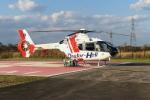 A-Chanさんが、Kushiro Kojinkai Memorial Hospital Heliportで撮影した中日本航空 EC135P1の航空フォト(写真)
