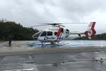 A-Chanさんが、Toyooka Hospital heliportで撮影した学校法人ヒラタ学園 航空事業本部 EC135P2+の航空フォト(写真)