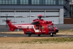 kaeru6006さんが、東京ヘリポートで撮影した東京消防庁航空隊 EC225LP Super Puma Mk2+の航空フォト(写真)