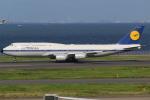 テクノジャンボさんが、羽田空港で撮影したルフトハンザドイツ航空 747-830の航空フォト(写真)