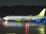 flyflygoさんが、熊本空港で撮影したソラシド エア 737-81Dの航空フォト(写真)