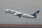 やつはしさんが、羽田空港で撮影したスカイマーク 737-81Dの航空フォト(写真)