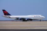 yabyanさんが、中部国際空港で撮影したデルタ航空 747-451の航空フォト(写真)