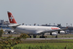 多楽さんが、成田国際空港で撮影したスイスインターナショナルエアラインズ A340-313Xの航空フォト(写真)