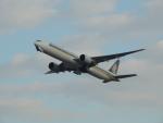 さゆりんごさんが、成田国際空港で撮影したシンガポール航空 777-312/ERの航空フォト(写真)