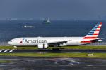 bakurochoさんが、羽田空港で撮影したアメリカン航空 777-223/ERの航空フォト(写真)