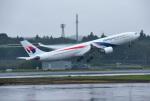 mojioさんが、成田国際空港で撮影したマレーシア航空 A330-323Xの航空フォト(写真)