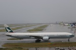 つっさんさんが、関西国際空港で撮影したキャセイパシフィック航空 777-367の航空フォト(写真)