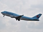 こじゆきさんが、金浦国際空港で撮影した大韓航空 747-4B5の航空フォト(写真)