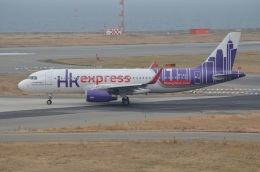 amagoさんが、関西国際空港で撮影した香港エクスプレス A320-232の航空フォト(写真)