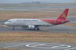 amagoさんが、関西国際空港で撮影した深圳航空 A320-214の航空フォト(写真)