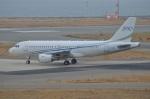 amagoさんが、関西国際空港で撮影したグローバル・ジェット・ルクセンブルク A319-115CJの航空フォト(写真)