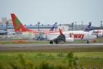 SKY☆101さんが、成田国際空港で撮影したティーウェイ航空 737-8HXの航空フォト(写真)