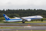 xingyeさんが、成田国際空港で撮影した全日空 787-9の航空フォト(写真)