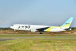 Cimarronさんが、帯広空港で撮影したAIR DO 767-33A/ERの航空フォト(写真)