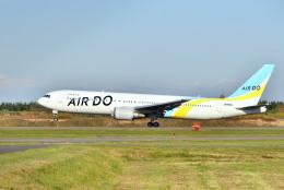 Cimarronさんが、帯広空港で撮影したAIR DO 767-33A/ERの航空フォト(飛行機 写真・画像)