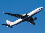 Mame @ TYOさんが、羽田空港で撮影したチャイナエアライン A330-302の航空フォト(写真)