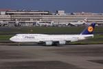 けいとパパさんが、羽田空港で撮影したルフトハンザドイツ航空 747-830の航空フォト(写真)