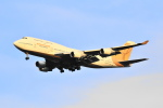 Orange linerさんが、成田国際空港で撮影したアトラス航空 747-481の航空フォト(写真)