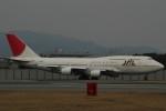 chappyさんが、伊丹空港で撮影した日本航空 747-446Dの航空フォト(写真)