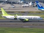 51ANさんが、羽田空港で撮影したソラシド エア 737-81Dの航空フォト(写真)