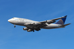LAX Spotterさんが、ロサンゼルス国際空港で撮影したユナイテッド航空 747-422の航空フォト(写真)