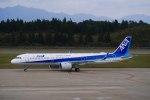 mibumibuさんが、秋田空港で撮影した全日空 A321-272Nの航空フォト(写真)