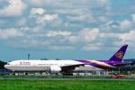 菊池 正人さんが、成田国際空港で撮影したタイ国際航空 777-3AL/ERの航空フォト(写真)