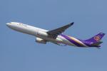 mameshibaさんが、成田国際空港で撮影したタイ国際航空 A330-343Xの航空フォト(写真)