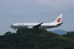 resocha747さんが、福岡空港で撮影した中国国際航空 737-86Nの航空フォト(写真)
