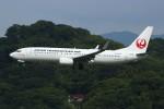 resocha747さんが、福岡空港で撮影した日本トランスオーシャン航空 737-8Q3の航空フォト(写真)