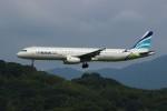 resocha747さんが、福岡空港で撮影したエアプサン A321-231の航空フォト(写真)
