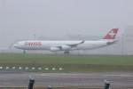 resocha747さんが、成田国際空港で撮影したスイスインターナショナルエアラインズ A340-313Xの航空フォト(写真)