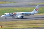 さくらの城南山。さんが、羽田空港で撮影したジェイ・エア ERJ-190-100(ERJ-190STD)の航空フォト(写真)