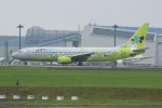 resocha747さんが、成田国際空港で撮影したジンエアー 737-86Nの航空フォト(写真)