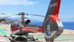 C.Hiranoさんが、モナコヘリポートで撮影したヘリ・エア・モナコ EC130B4の航空フォト(写真)