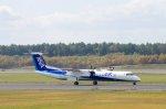 kitayocchiさんが、新千歳空港で撮影したANAウイングス DHC-8-402Q Dash 8の航空フォト(写真)