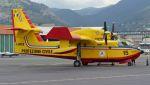 C.Hiranoさんが、ジェノヴァ・クリストフォロ・コロンボ空港で撮影したProtezione Civile  Canadair CL-215-6B11 CL-415の航空フォト(写真)