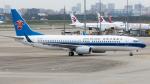 coolinsjpさんが、上海虹橋国際空港で撮影した中国南方航空 737-81Bの航空フォト(写真)