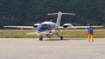 C.Hiranoさんが、Albenga Airport Italy / LIMGで撮影したItaly - Carabinieri P.180 Avantiの航空フォト(写真)